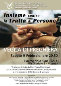Veglia anti-tratta a Vicenza
